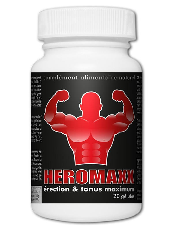 HeromaXXX Erection et Tonus Maximum x20