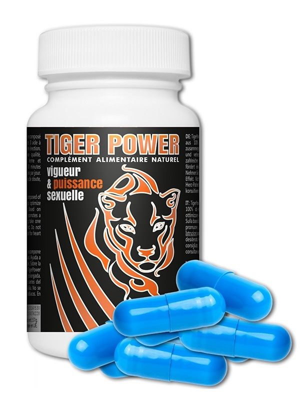 Tiger Power Booster d'Erection x10