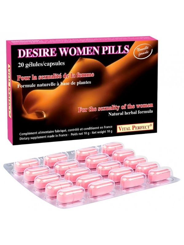 Gélules Spéciales Libido Desire Women 20x