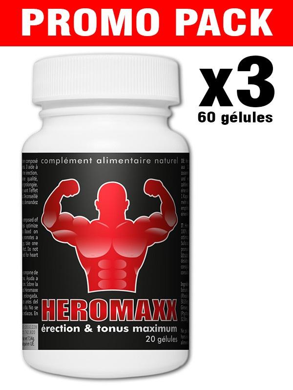 HeromaXXX Pack Promo 3x20