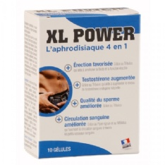 Aphrodisiaque XL Power 10 Gélules