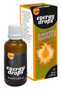 Energy Drops Taurin and Guarana 30 ml