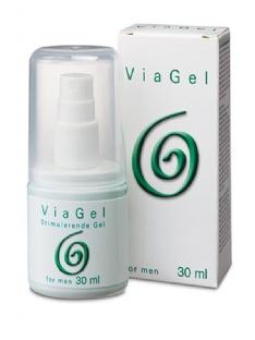 Gel Stimulant et Comestible ViaGel pour Hommes