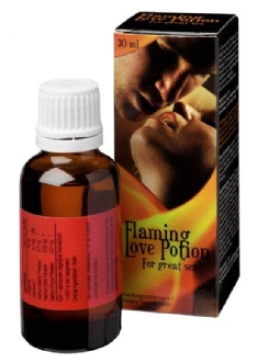 Flaming Love Potion for Couple