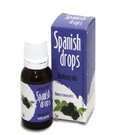 Spanish Drops Blackberry Mix
