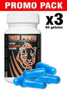 Promo Pack 3x Tiger Power 20