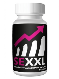 Gélules Taille du pénis SeXXL