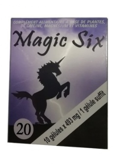 Complement alimentaire pour homme Magic Six x 20