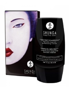 Shunga Secret Garden Female Orgasm Cream Intense